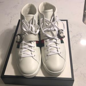 Gucci Shoes   Ace Hightop Sneaker With